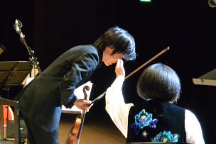 第一ヴァイオリンの客演・三上亮さん