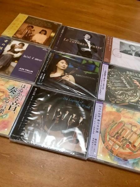 アウトレット販売予定のCD(新品未開封・中身には問題ありません)